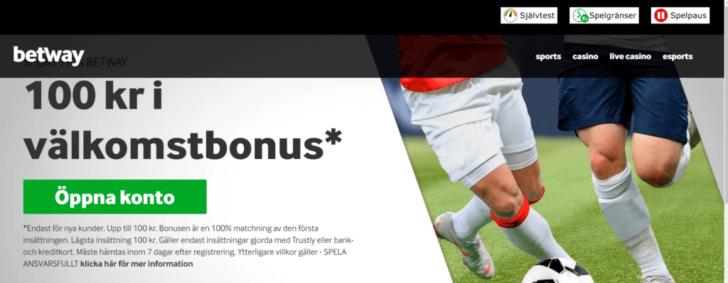 Betway sports bonus